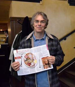 Szendi Gábor a paleolit táplálkozás szakértője, a magazin egyik szerzője