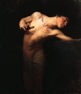 Benczúr Gyula: Narcissus (1881)
