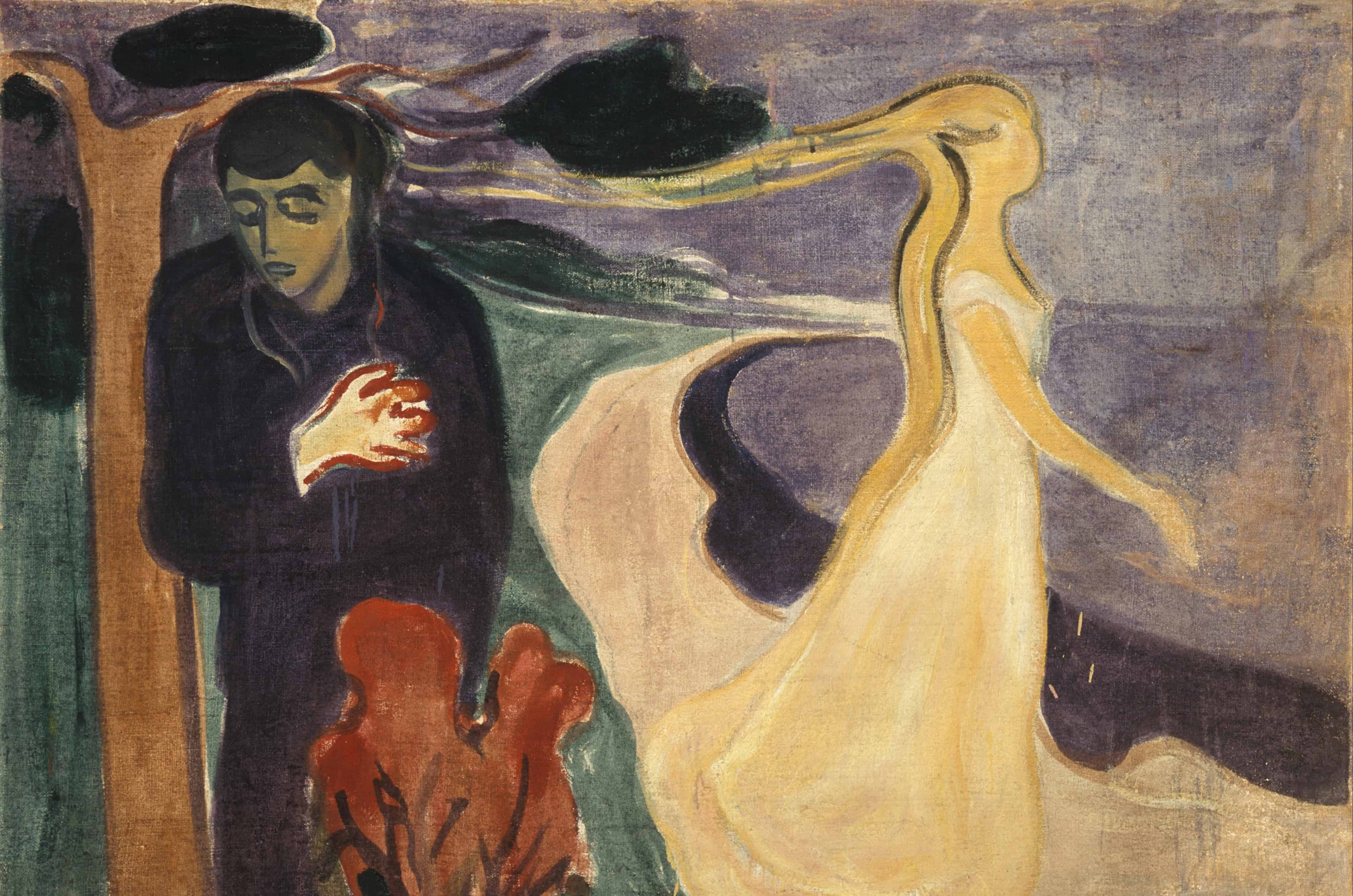 Edvard Munch- Separation (1896)