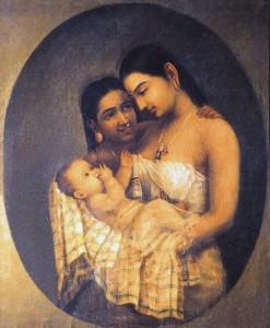 raja_ravi_varma_mother_and_child